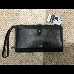 NWT The Sak 3-in-1 Genuine Leather Phone Wallet